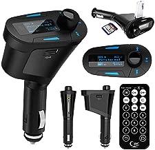 Car Kit MP3 Player Wireless FM Transmitter Modulator USB SD MMC Blue LCD Display With Remote