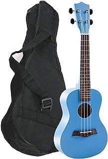 القيثارة مع الحقيبة للأطفال ألعاب موسيقية للأطفال هدية جيتار مصغر أزرق للأطفال