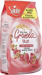Sante Whole Grain Granola With Cranberry, Raspberry, Strawberry, 350 g