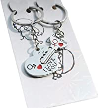 A Pair Couple Keychain - My Heart Will Go On, You are My Only Love.The Key to My Heart Couple Keychain, The Best Gift for Love.