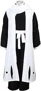 Kuchiki Byakuya 6th Division Gotei 13 Shinigami White Cosplay Costume