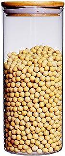 aedouqhr Bocaux de Cuisine, couvercles de Rangement, récipients de Conservation des Aliments avec couvercles avec présento...