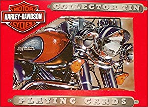 Harley Davidson Collector Tin with 2 Decks of Playing Cards