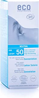 eco cosmetics eco Sonnenlotion neutral LSF50+, wasserfest, vegan, ohne Mikroplastik,..