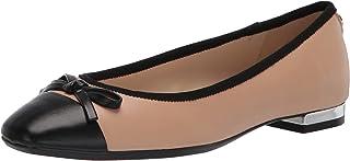 حذاء باليه مسطح للسيدات Olly9x93 من NINE West، أحمر خدود 9. 5