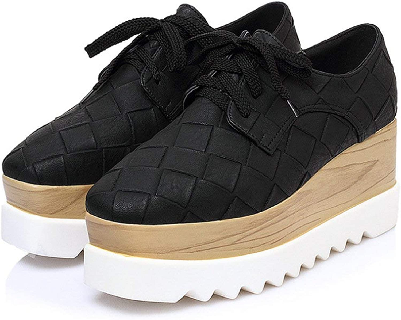 Boolee Stunning Women's Elegant Formal Wedges Platform Casual Sneakers