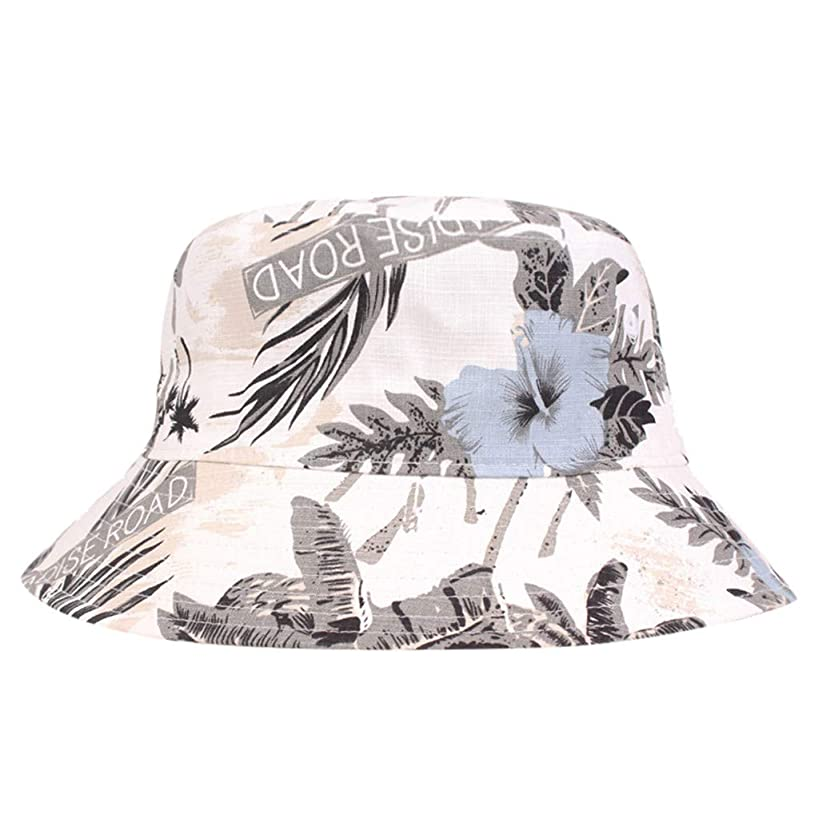 Tomppy Bucket Hats for Men Women Summer UV Protection Printed Fishermen Hat Outdoor Travel Sun Visor Caps