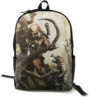 Alien Vs Predator School Backpacks Business Laptop Backpack Kid's School Bag Bookbag Travel Daypacks