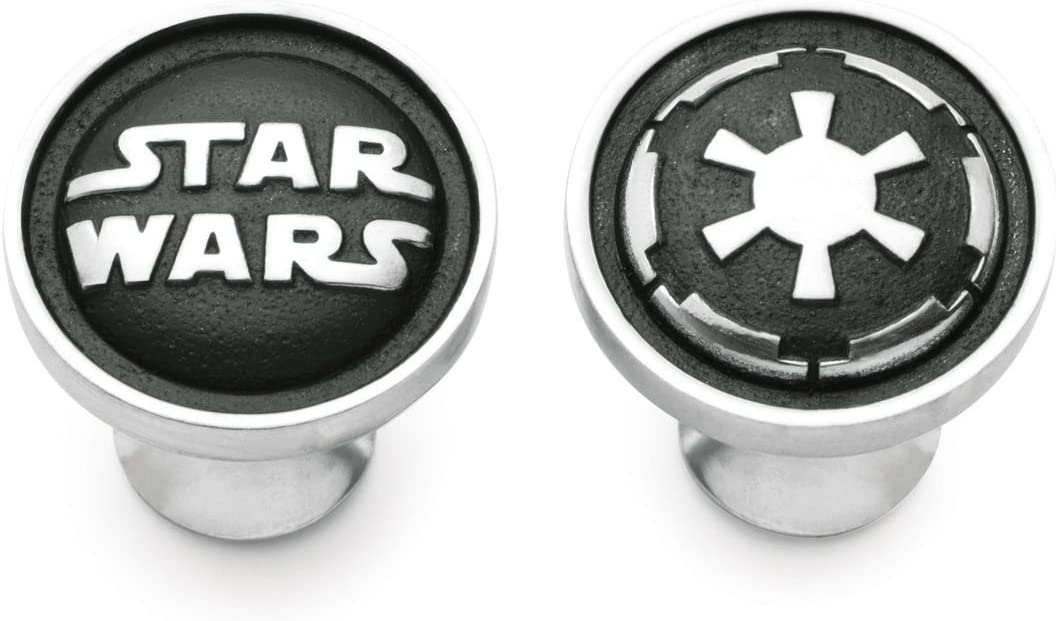 Royal Selangor Hand Finished Star Wars Collection Pewter Galactic Empire Cufflinks Gift
