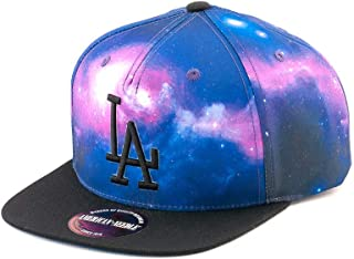 MLB Los Angeles Dodgers Final Frontier Snapback Cap with Black Visor by American Needle