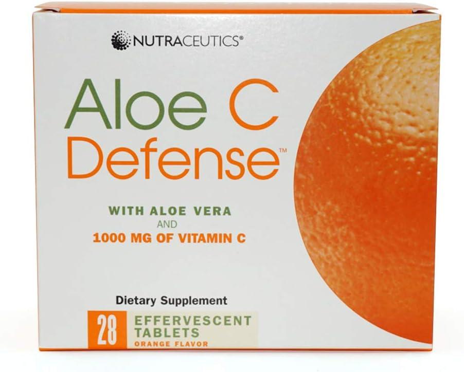 Nutraceutics Aloe C Popular products Defense Orange Flavor tabl 28 effervescent Attention brand