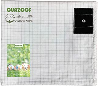 Grouding Sheets King Size with 10% Silver Fiber & Organic Cotton- Conductive with Grounding Cord, Grounding Keep Good Slee...