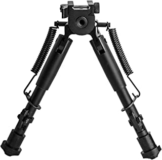 Lion Gears Scout-Pod Tactical Bipod with Quick Release Pivoting and Swivel Mounting Deck SP-SL07
