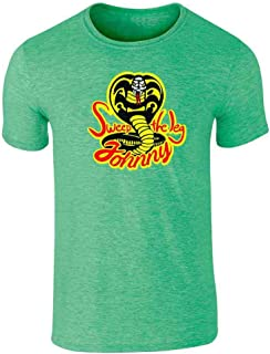 Cobra Kai Karate Kid Merchandise Retro No Mercy Graphic Tee T-Shirt for Men