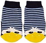 Country Kids Slipper Sock Danny Chaussettes, Bleu (Blue), FR: 7 Ans (Taille Fabricant: 6-8 Years) Mixte bébé