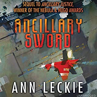 Ancillary Sword audiobook cover art