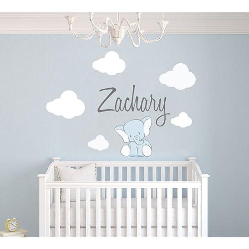 Incredible Elephant Room Decor For Baby Boy Amazon Com Interior Design Ideas Greaswefileorg