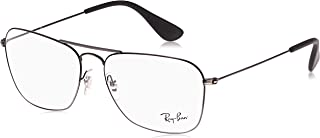 Ray-Ban unisex-adult Rx3610v Rectangular Metal Eyeglass Frames Rectangular Prescription Eyeglass Frames