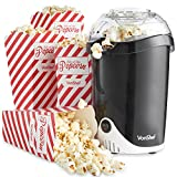 VonShef Fat-Free Hot Air <span class='highlight'>Popcorn</span> Maker with 6 <span class='highlight'>Popcorn</span> Boxes Included