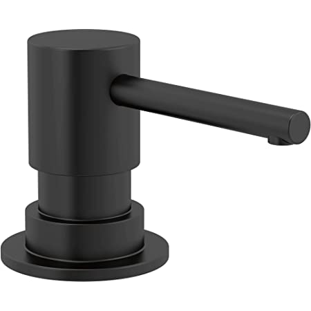 Delta RP100734BL Delta RP100734 Trinsic Deck Mounted Soap Dispenser with Metal Head