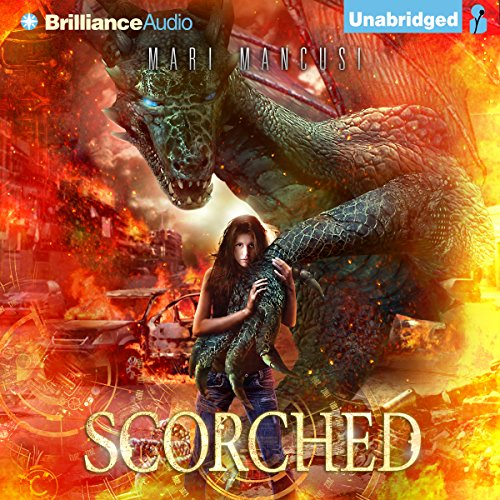Scorched audiobook cover art