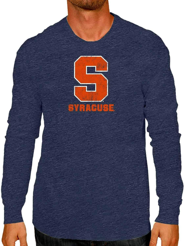 NCAA Adult MVP Heathered Logo Long-Sleeve Shirt