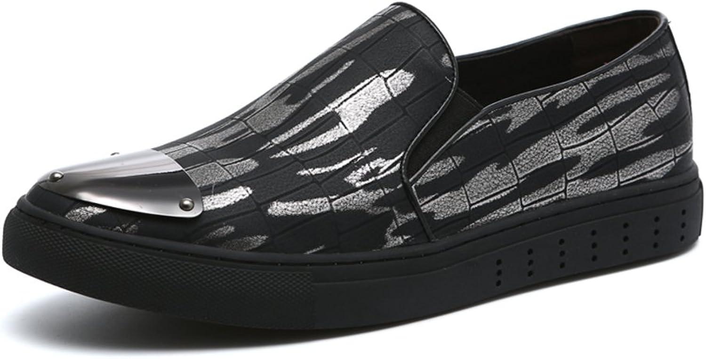 England Schuhe Frühling und Herbst dicken Sohlen Plattform Herrenschuhe der Faulenzer Brock Mode casual Schuhe