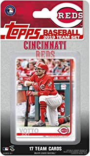 Cincinnati Reds 2019 Topps Factory Sealed Special Edition 17 Card Team Set with Joey Votto and Yasiel Puig Plus