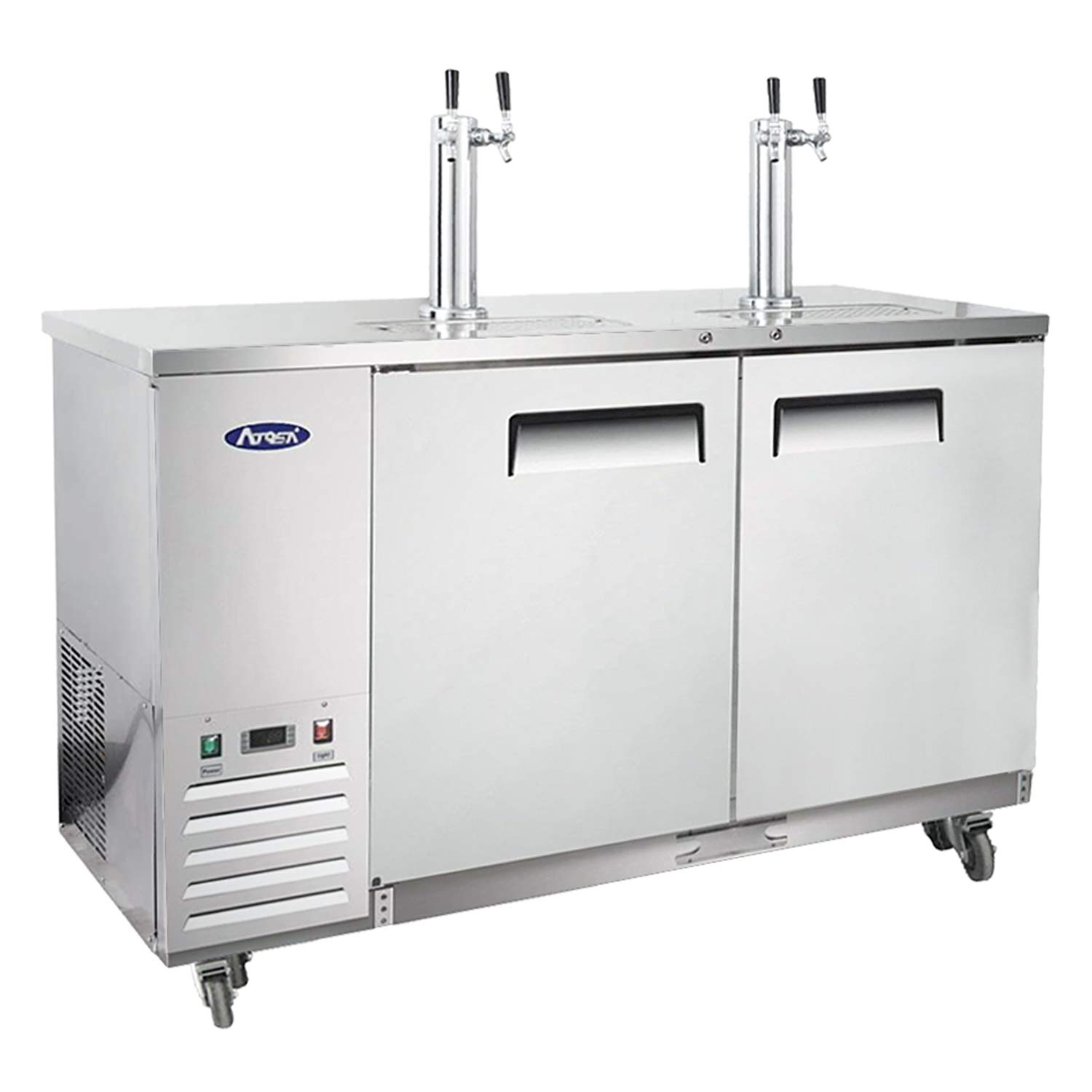Kegerator Beer Dispenser Albuquerque Mall with 2 Keg New item Commercial Atosa Towers Tap