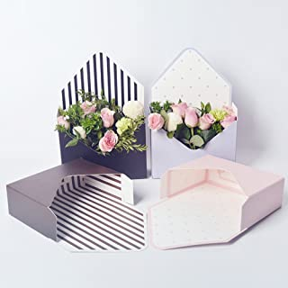 Florist Bouquet Packaging Gift Box Envelop Paper Boxes 5 Counts 7.9x2.8x5.7 Inch (6)