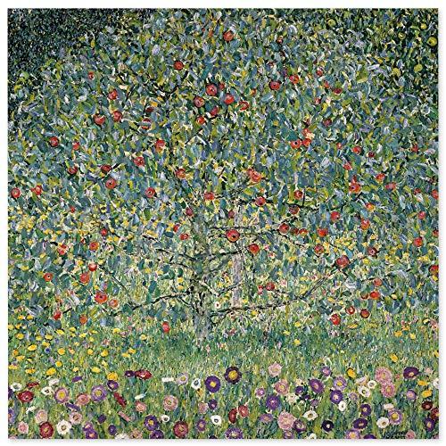 JUNIWORDS Poster, Gustav Klimt, Apfelbaum I, 30 x 30 cm