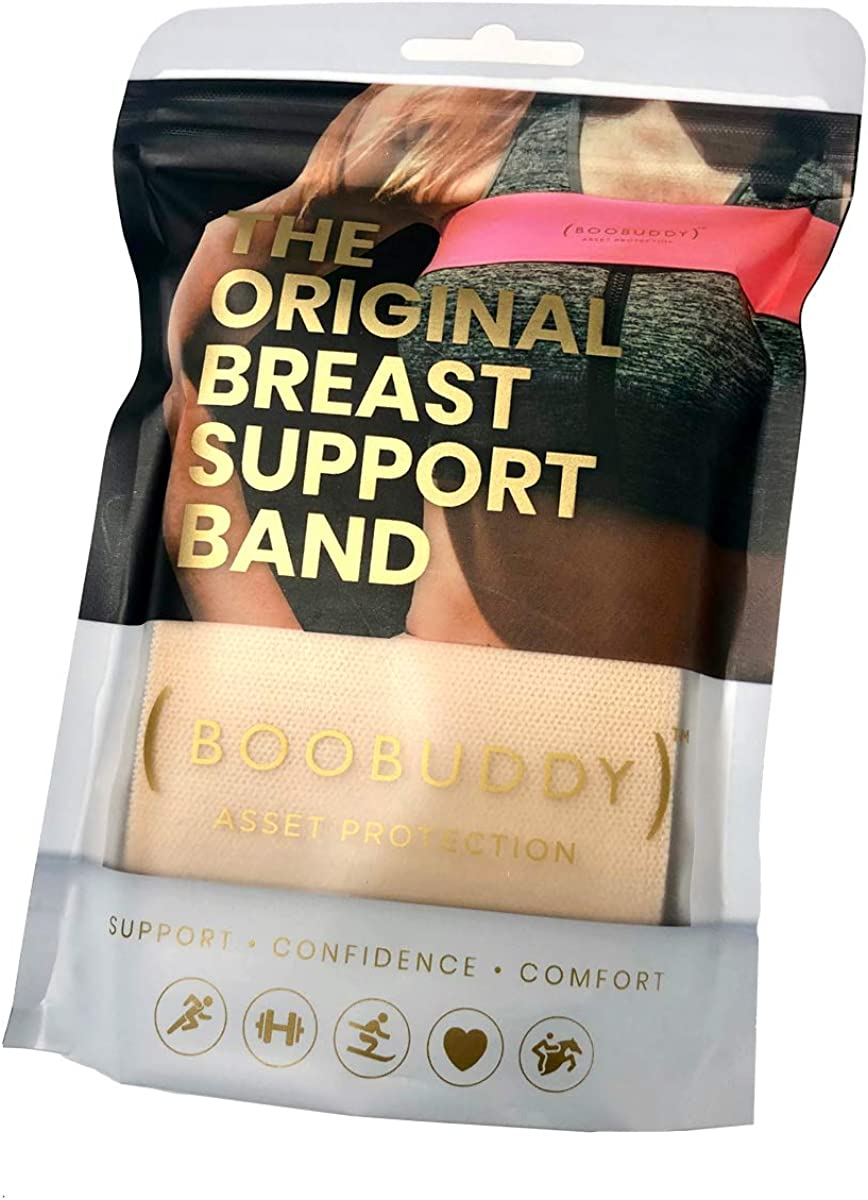 Sports Bra Alternative for Running Booband Boobuddy Breasts Support Sport Band for Women Exercise /& Yoga Adjustable /& Comfortable Top Prevents Injury /& Improves Ladies Posture