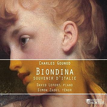 Gounod: Biondina (Souvenir d'Italie)