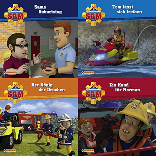 4er-Set Maxi-Mini 14: Feuerwehrmann Sam (Nelson Maxi-Mini)