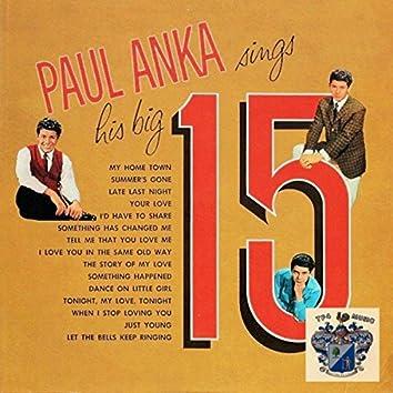 Paul Anka Sings His Big 15