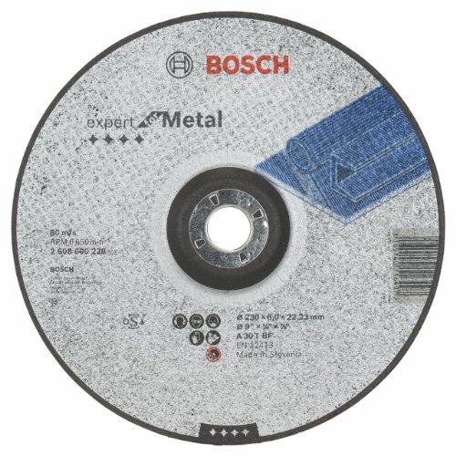 Bosch Professional 2608600228 Schleifzubehör Schruppsch.230 x 6 mm F.Metall