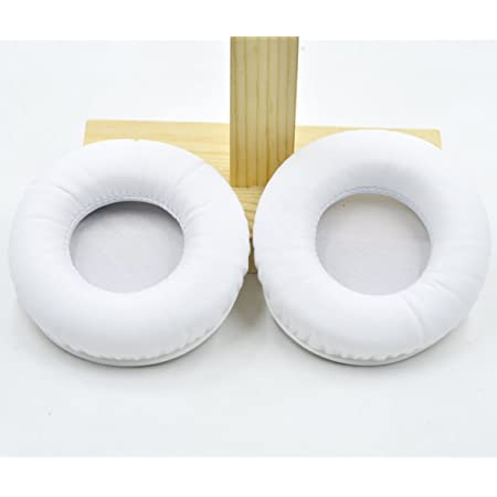Replacement Cushion Ear Pads Seals for JBL SYNCHROS E50BT E50 S500 S700 Wireless Headphones (White)