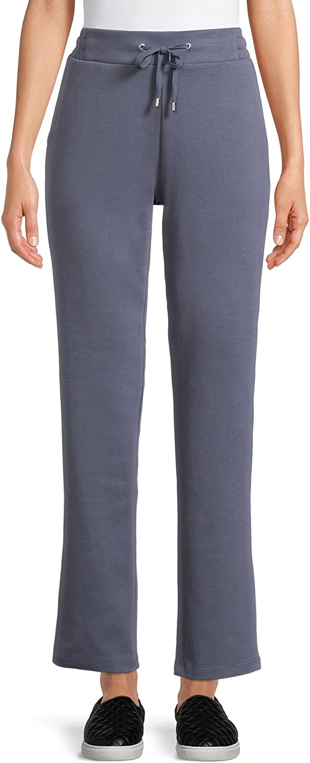 Time & Tru Women's Relaxed Fit Drawstring Pants