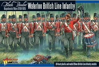 Black Powder Napoleonic British line Infantry Waterloo Campaign 1:56 Military Wargaming Plastic Model Kit