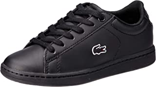 Lacoste Children's Carnaby EVO BL 3 Fashion Shoes, BLK/BLK