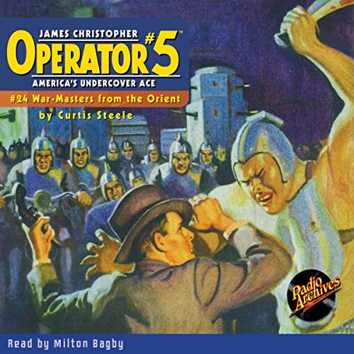 Operator #5 #24, March 1936 cover art