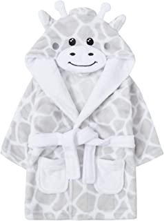 Chew2you Gorgeous Supersoft Fleece Dressing Gown with Teddy Bear Print