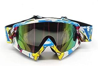 QSCTYG Motorbril, fietsbril, racefietshelm, Skisport voor motorfiets, Dirt Bike, Racing, 266