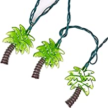 LIDORE Palm Tree String Lights. 10 Counts Warm White Light for Holiday and Party