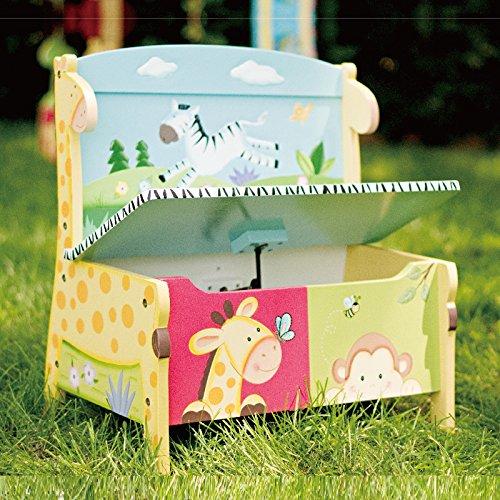 37x 30x 26cm LOMOS caja para juguetes con diferentes motivos colorido y mucho espacio para almacenar