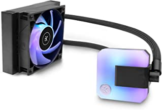 EK 120mm AIO D-RGB All-in-One Liquid CPU Cooler with EK-Vardar High-Performance PMW Fans, Water Cooling Computer Parts, 12...