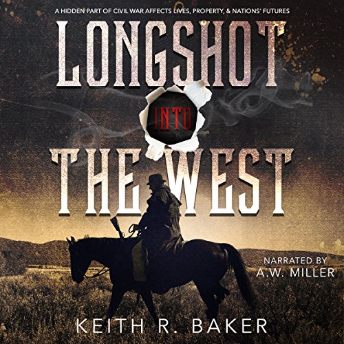 Longshot into the West audiobook cover art