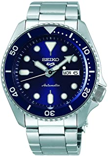 Seiko 5 FaCELIFT, 10 Bar water resistant, Calendar, Blue dial Men's watch SRPD51K1