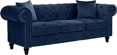 Amazon.com: Legend Vansen 2041S Sofa, Blue: Kitchen & Dining