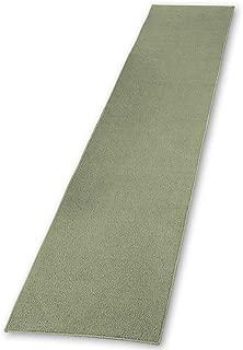 Collections Etc Extra Long Skid-Resistant Floor Hallway Kitchen Runner Rug, Sage, 20